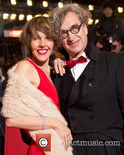 Wim Wenders and his wife Donata 1