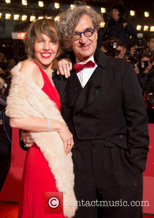Wim Wenders and his wife Donata 2