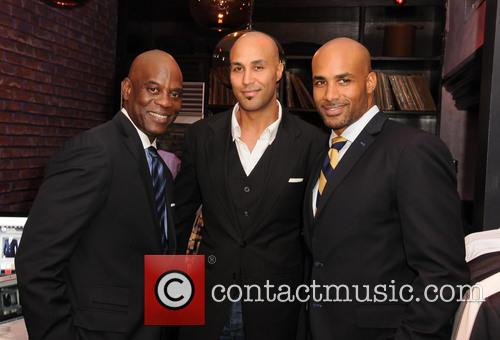 James Brown, Patrick Kodjoe and Boris Kodjoe 1