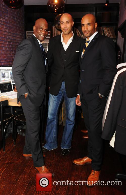 James Brown, Patrick Kodjoe and Boris Kodjoe 2