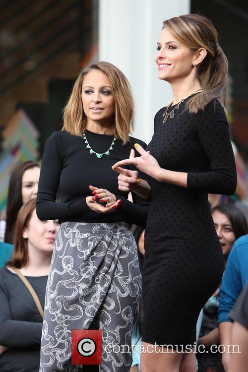 Nicole Richie and Maria Menounos 8