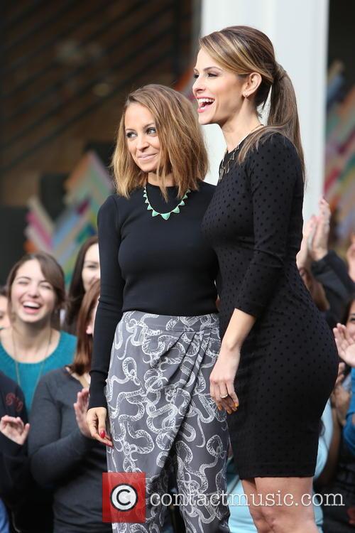 Nicole Richie and Maria Menounos 11
