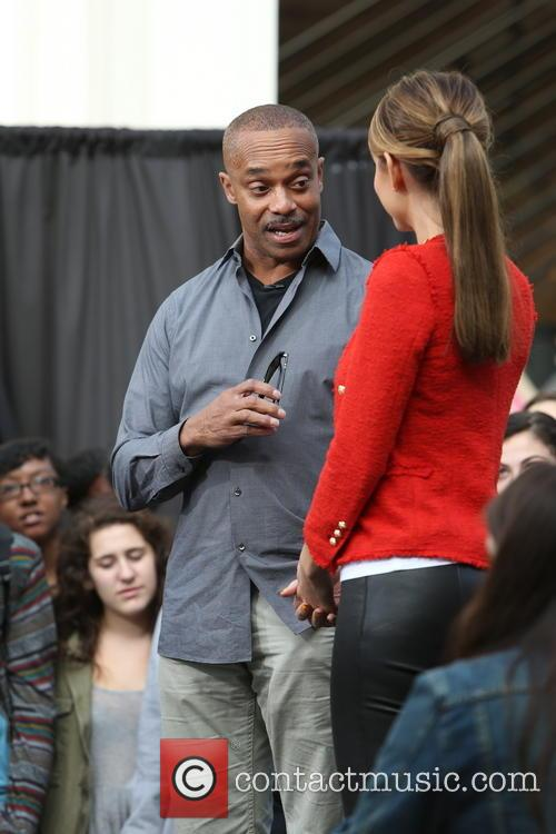 Rocky Carroll and Maria Menounos 5