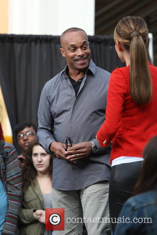Rocky Carroll and Maria Menounos 6