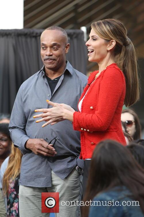 Rocky Carroll and Maria Menounos 7
