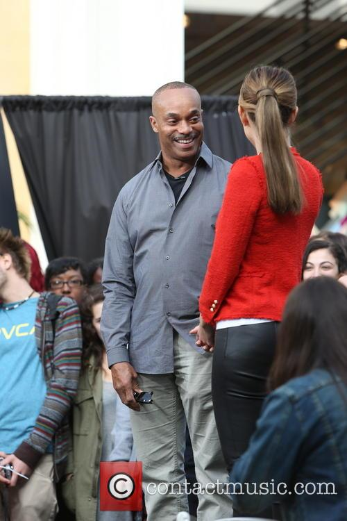 Rocky Carroll and Maria Menounos 11