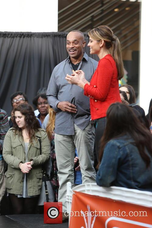 Rocky Carroll and Maria Menounos 13