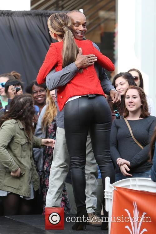 Rocky Carroll and Maria Menounos 14