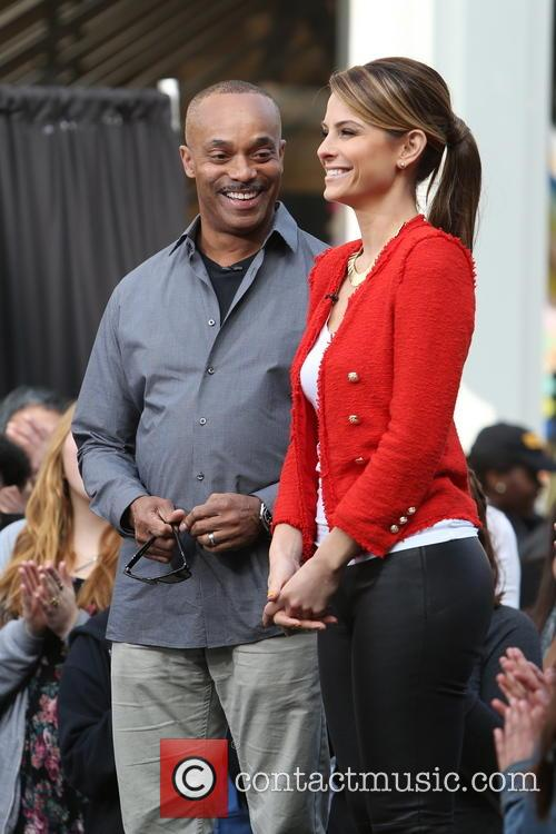 Rocky Carroll and Maria Menounos 15