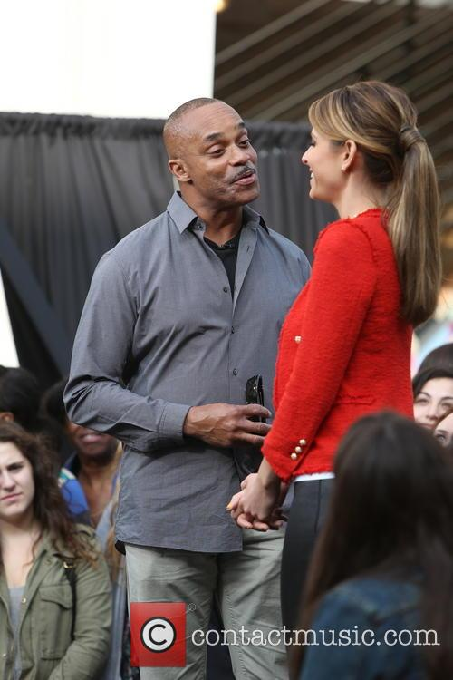 Rocky Carroll and Maria Menounos 18