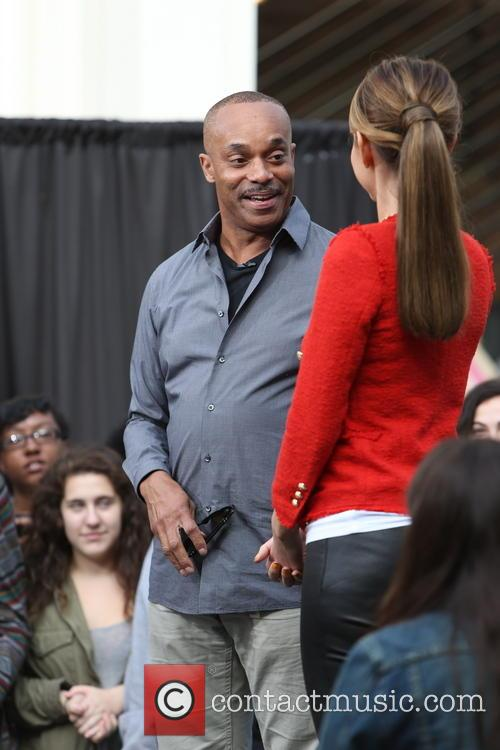 Rocky Carroll and Maria Menounos 21