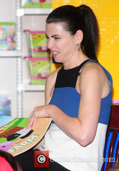 Julianna Margulies and LEGO host 'Read, Build, Play'