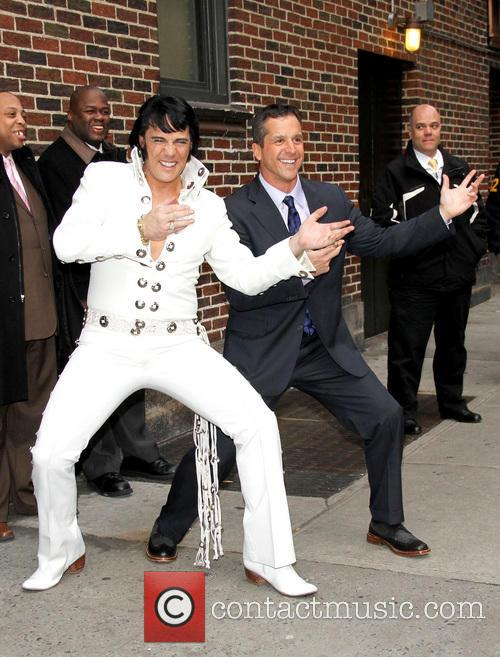 Elvis, John Barbaugh, The Late Show, David Letterman