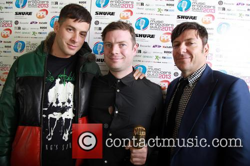 Mark Ronson, Al O'connell and Damian Wilson 3