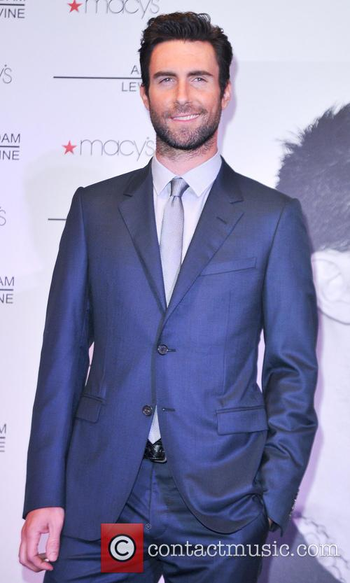 Adam Levine fragrance launch