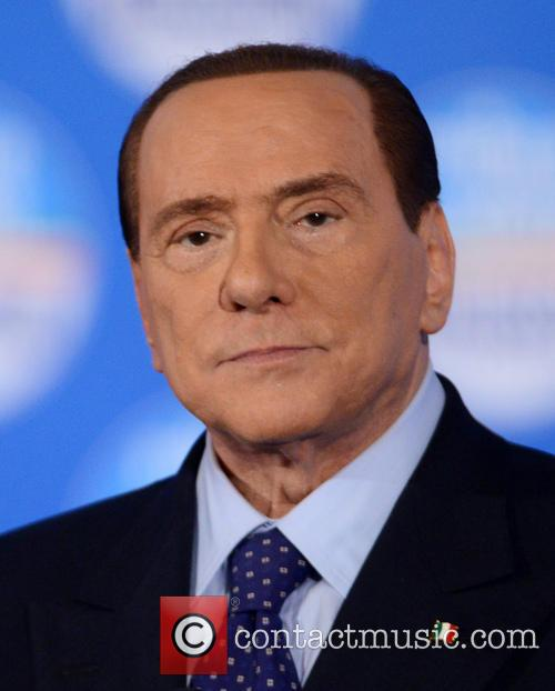 Silvio Berlusconi political rally