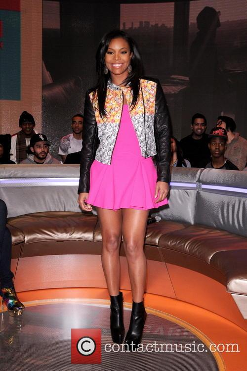 gabrielle union gabrielle union appearing on bet's '106 3490288