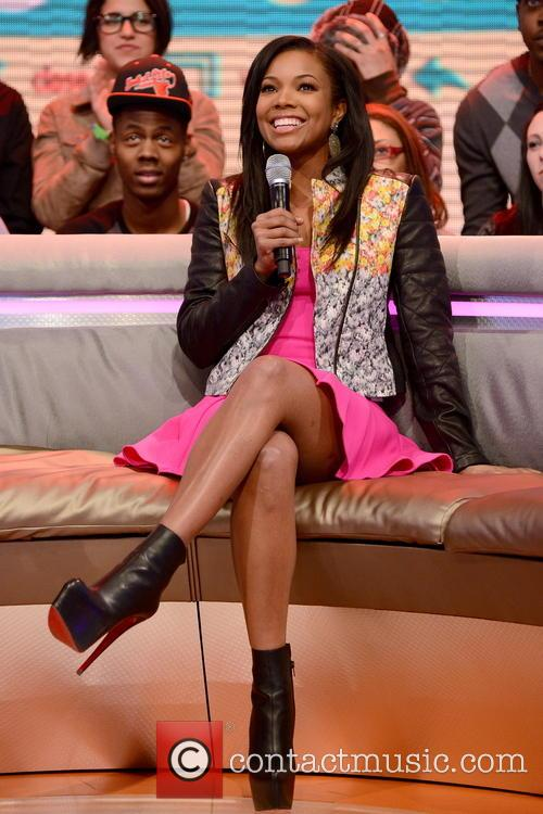 Gabrielle Union appearing on BET's '106 and Park'