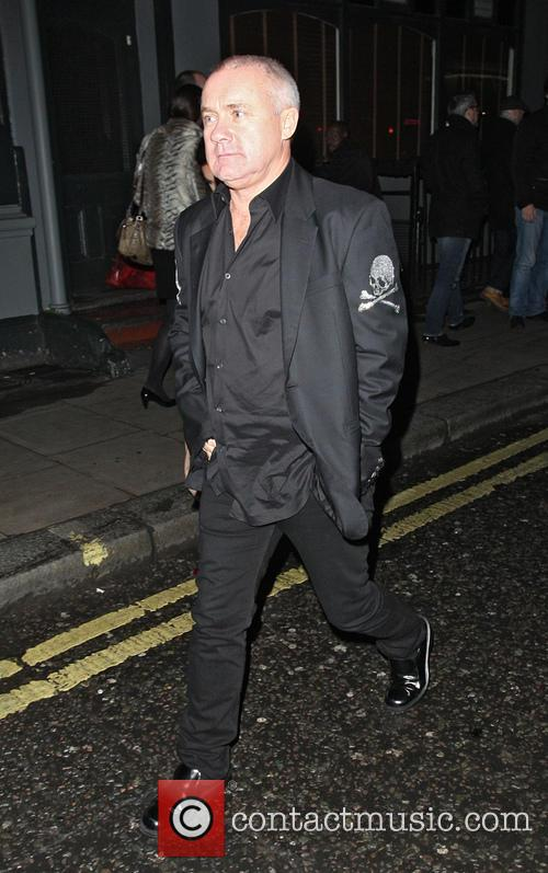 Damien Hirst Leaving The Groucho