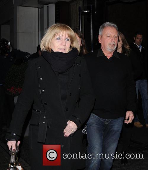 David's Mother, Father, Sandra Beckham and David Beckham Sr. 2