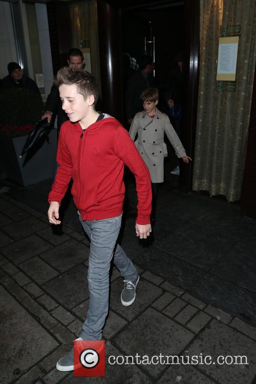 Brooklyn and Romeo Beckham 10