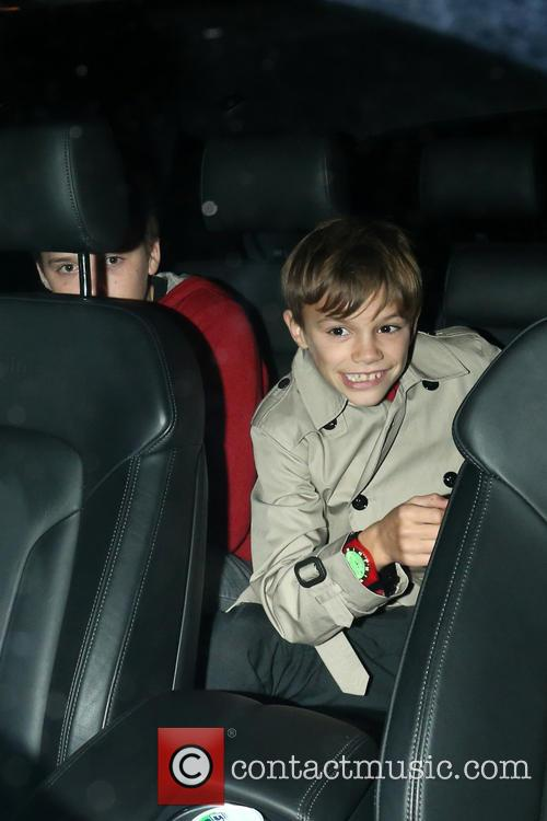 Brooklyn and Romeo Beckham 11