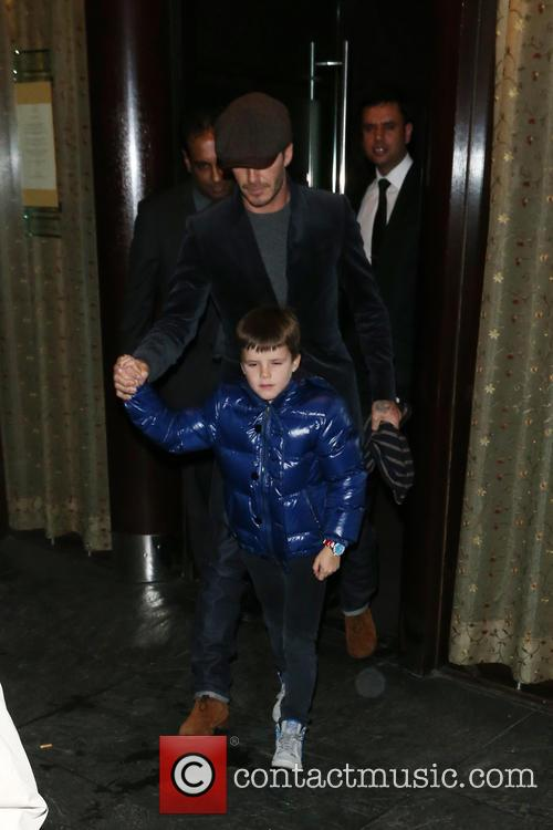 David Beckham and Cruz Beckham 11