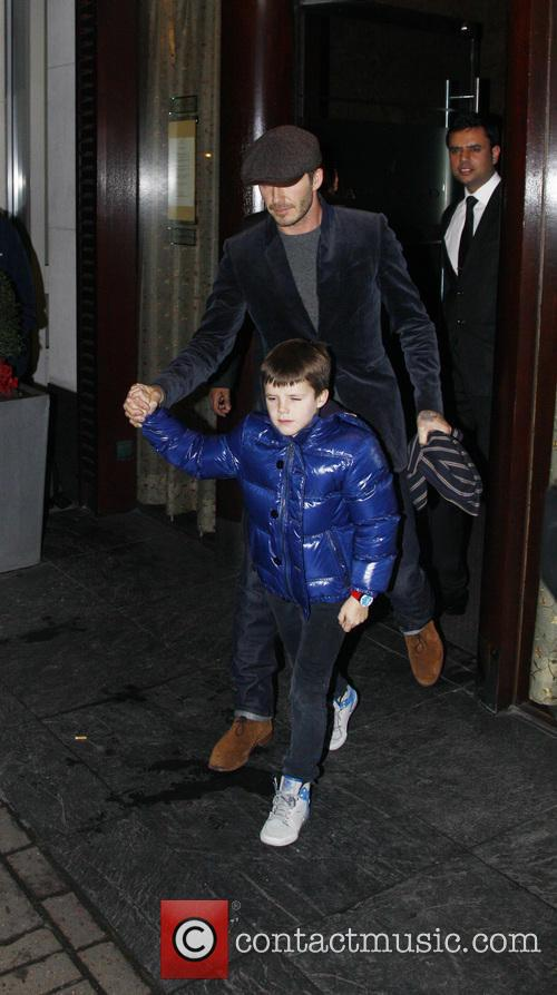 David Beckham and Cruz Beckham 14