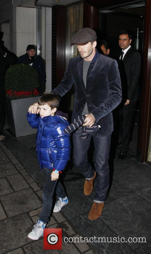 David Beckham and Cruz Beckham 15
