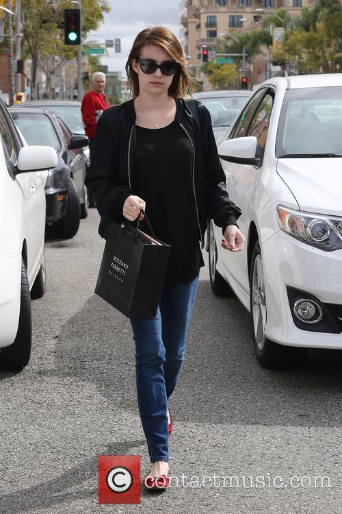 emma roberts emma roberts seen out shopping 3490240
