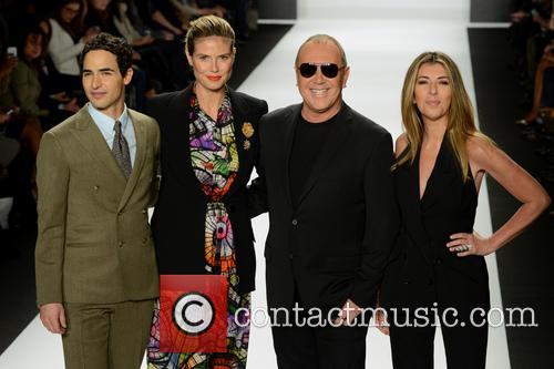 Zac Posen, Heidi Klum, Michael Kors and Nina Garcia 2