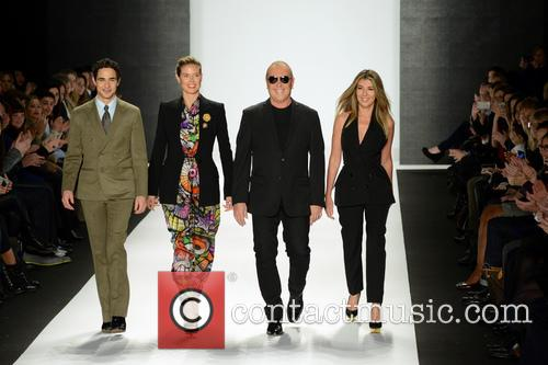 Zac Posen, Heidi Klum, Michael Kors and Nina Garcia 4