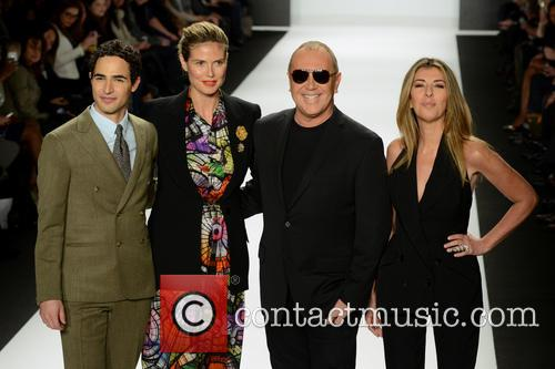 Zac Posen, Heidi Klum, Michael Kors and Nina Garcia 7