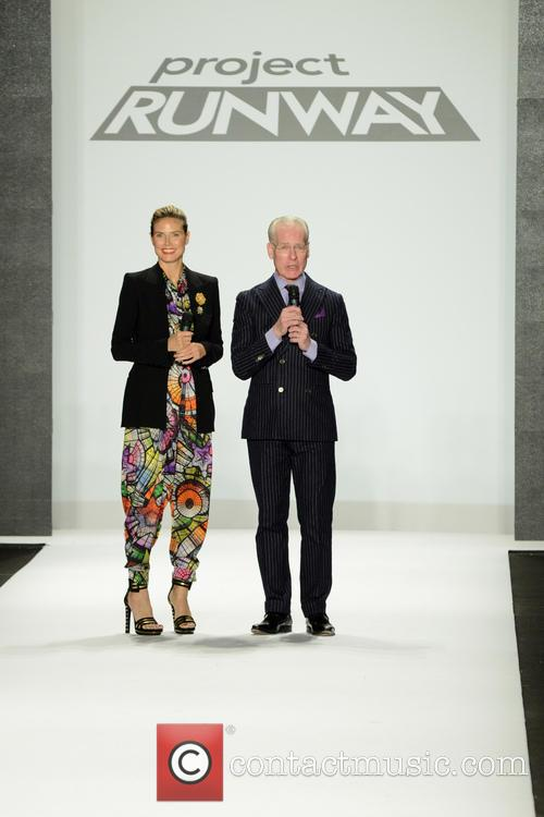 Heidi Klum and Tim Gunn 11