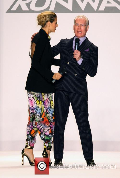Heidi Klum and Tim Gunn 4