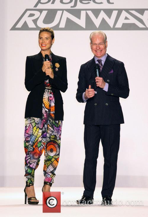 Heidi Klum and Tim Gunn 1