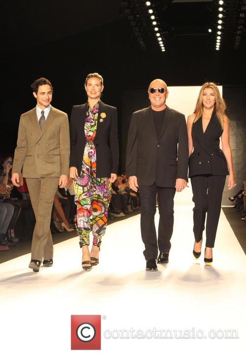Zac Posen, Heidi Klum, Michael Kors and Nina Garcia 9