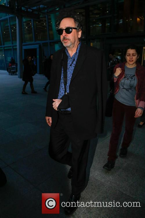 Tim Burton and Heathrow Airport 11