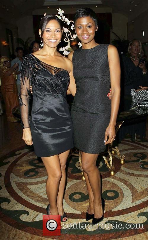 Salli Richardson and Emayatzy E 2