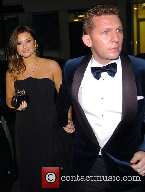 holly valance nick candy 'silver lining's playbook' pre bafta party 3490797