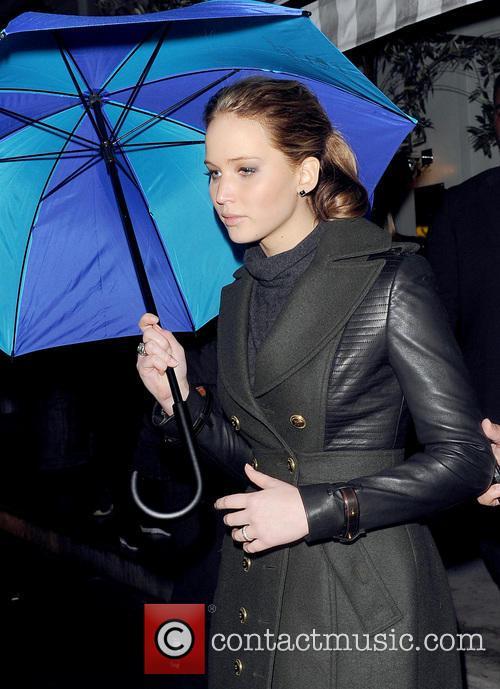 Jennifer Lawrence spotted leaving her Hotel
