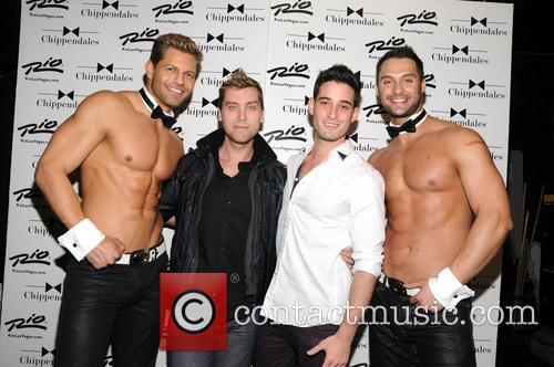Lance Bass and Michael Turchin 1