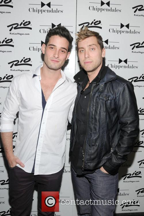Lance Bass and Michael Turchin 5
