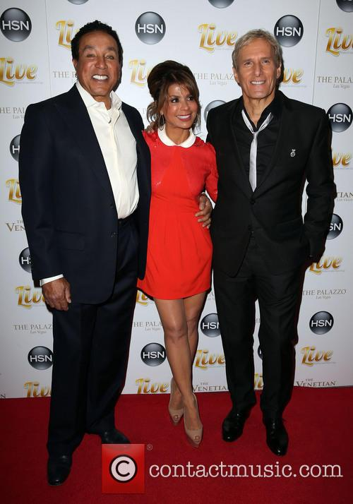 Smokey Robinson, Paula Abdul and Michael Bolton 7