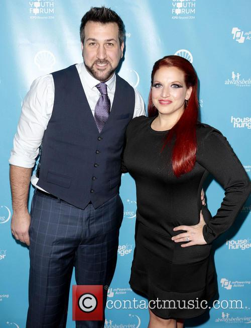 Joey Fatone and Kelly Baldwin 6