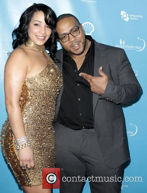 Timbaland, Timothy Mosley and Wife Monique Mosley 11