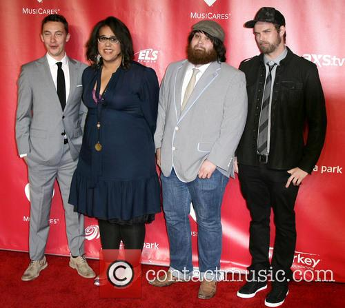 Musicians Heath Fogg, Brittany Howard, Zac Cockrell and Steve Jo 2