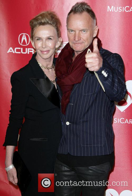 Sting and Trudie Styler 4