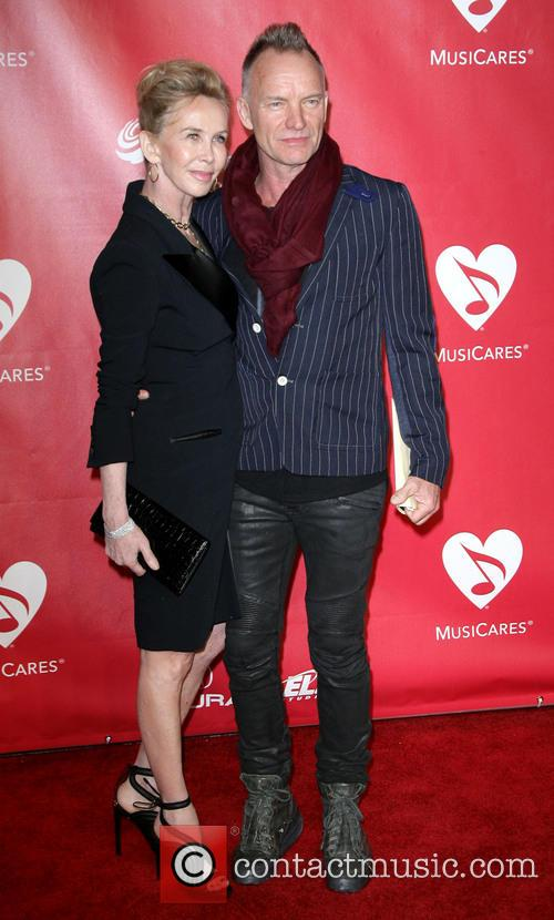 Sting and Trudie Styler 1