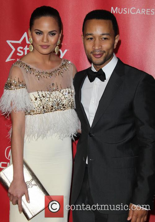 Christine Teigen and John Legend 2